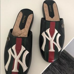 New Gucci NY women's slides size 38